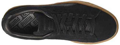 Puma black Mode Warmth Suede Basket Homme Noir black Classic Natural 88rOgq