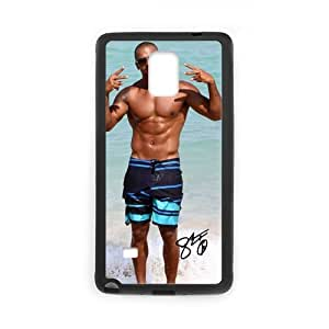 Onshop Custom Shemar Moore on the Beach Print on Phone Case Laser Technology for Samsung Galaxy Note 4