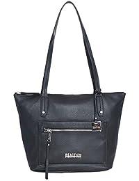 Edie Tote Handbag (Black)