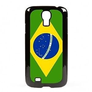 Case Fun Samsung Galaxy S4 (I9500) Vogue Case - Flag of Brazil