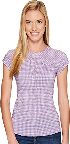 Fjallraven Abisko Stretch SS Shirt - Women's Orchid XL by Fjallraven
