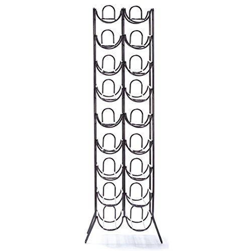 Oenophilia Scaffovino 18 Bottle Floor Wine Rack by Oenophilia