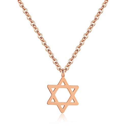 Lary Jewelry Jewish Jewelry Megan Star of David Pendant Necklace for Women