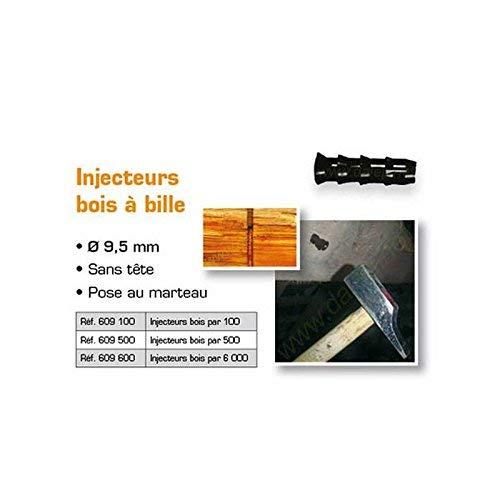 LOT de 100 Injecteurs Bois DALEP /Ø9.5MM 609100