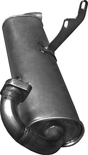 ETS-EXHAUST 2929 Silenziatore marmitta Posteriore (pour CITY FORTWO 0.6 0.7 CABRIO COUPE 55/45/61/50hp 2000-2004) ETS-SCARICO
