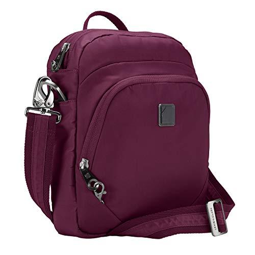 Lewis N. Clark Secura RFID Blocking Anti-Theft Backpack + Crossbody Bag for Travel