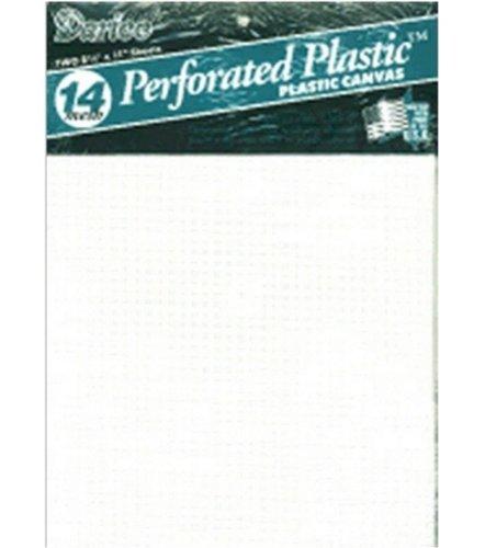 Darice Perforated Plastic Canvas White