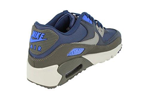 Nike Jongens Air Max 90 Mesh Sneaker Binair Blauw Cool Grey 404
