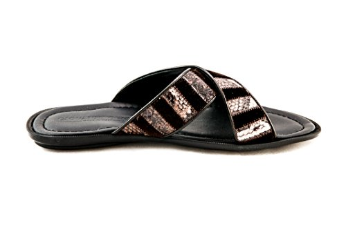 Giovanni Conti Giovanni Mens Conti Velour Sandal Mens Leather With Leather Brown wI6qAntC5x