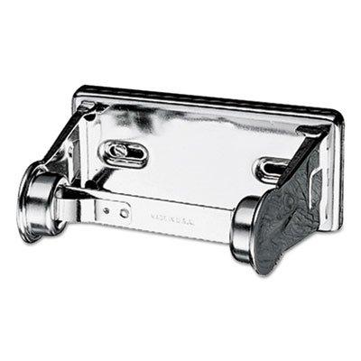 (Locking Toilet Tissue Dispenser, 6 x 4 1/2 x 2 3/4, Chrome )