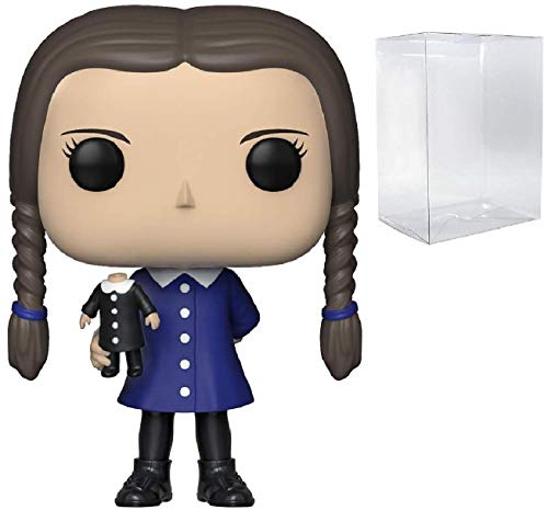 Funko Pop! TV: The Addams Family - Wednesday Addams Pop! Vinyl Figure (Includes Compatible Pop Box Protector Case) -