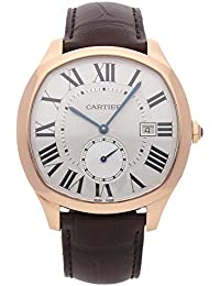 Drive de Cartier Mechanical (Automatic) Silver Dial Mens Watch WGNM0003 (Certified Pre-