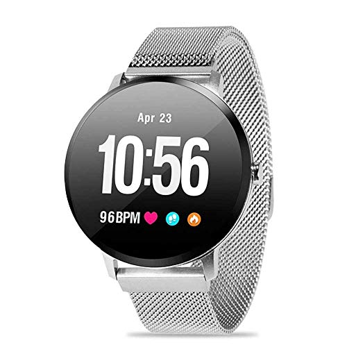 LAYOPO Smart Fitness Watch, Waterproof Fitness Tracker with Heart Rate Blood Pressure Blood Oxygen Monitor, GPS Activity Tracker with Music Player, Pedometer Watch for Women Men