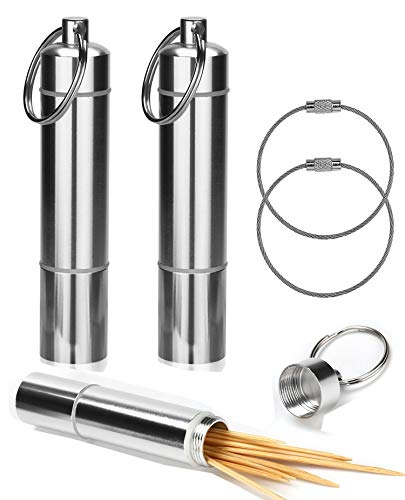 OOTSR Aluminum Toothpick Holder
