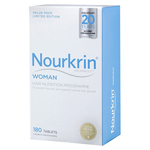 Nourkrin Woman For Hair Growth 180 Tablets by Nourkrin
