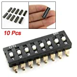 Uxcell a11060300ux0101 8 Position SMT SMD Type Dip Switches 1, 2.54 mm Pitch