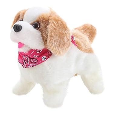 Cute Little Puppy - Flip over Dog, Somersaults, Walks, Sits, Barks