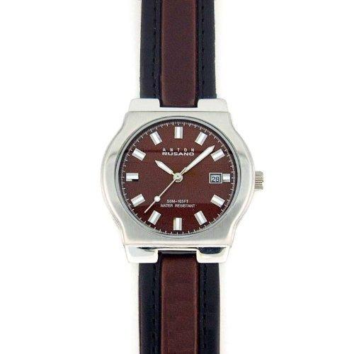ANTON RUSANO Men's Silver-tone Round Fac - Tone Round Faced Watch Shopping Results