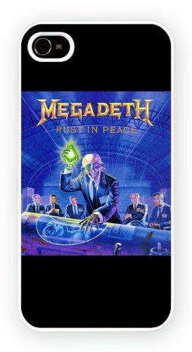Megadeth - Rust In Peace, iPhone 4 4S, Etui de téléphone mobile - encre brillant impression