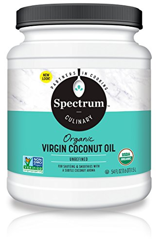 Spectrum Unrefined Organic Virgin Coconut Oil, 54 Oz