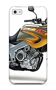 Myra Fraidin's Shop Hot 3600499K90164166 New Design Shatterproof Case For Iphone 5c (yamaha Motorcycle)