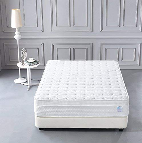 Smith & Oliver furMattress_Chiland_12_Queen Mattress, White