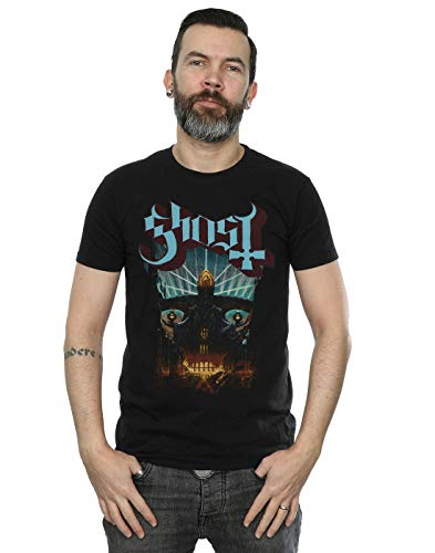Absolute Cult Ghost Men's Meliora Cover T-Shirt Black Large from Absolute Cult