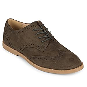 Wanted Women's Vermont Oxford Shoes (9, Olive)