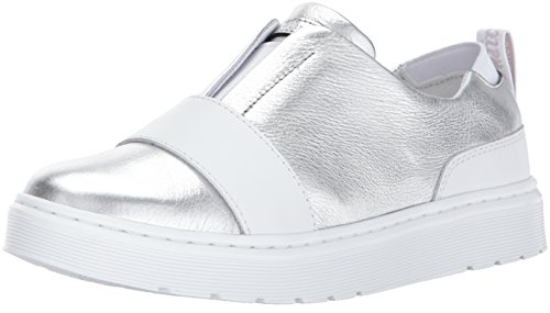 Silver Women's Lylah Dr Santos Sneaker Martens q5pCWCwI