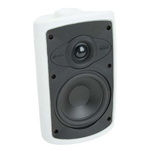 Niles OS5.3 2-Way Indoor/Outdoor Speakers (Pair) Black/White Fg00986