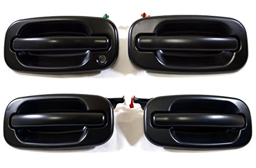 02 tahoe rear door handle smooth - 3