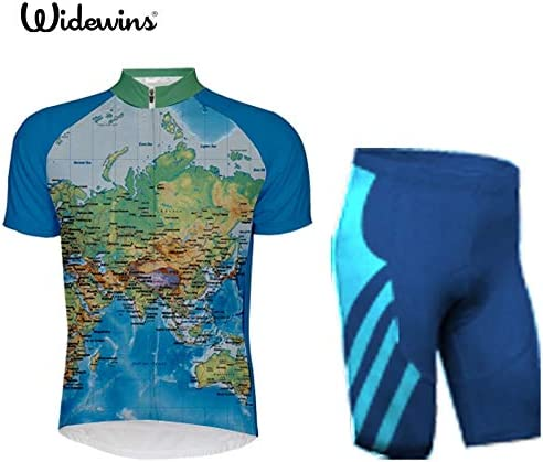 World Jerseys Thin Blue Line Mens Cycling Jersey bike bicycle