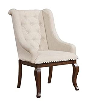 Scott Living Glen Cove Collection Arm Chair in Cream Fabric Upholstery  sc 1 st  Amazon.com & Amazon.com - Scott Living Glen Cove Collection Arm Chair in Cream ...