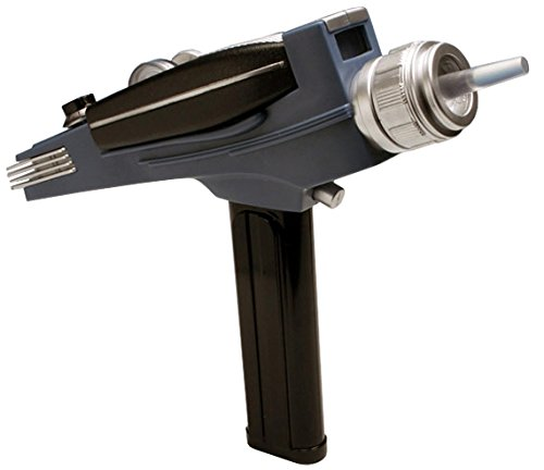 Diamond Select Toys Star Trek: The Original Series Black Handle Phaser (Replicas Trek Star)