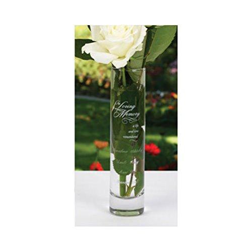 Wedding Memorial Bud Vase In Loving Memory Wedding Ceremony