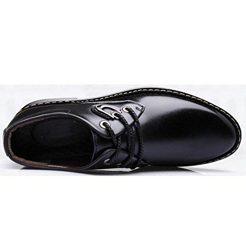 Cordones Ocasionales OEMPD Black Zapatos Hombres Con Negocios Para Zapatos Transpirables De PBSwqB