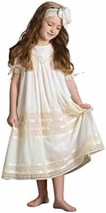 4fa9025f320 Strasburg Children Girls Lace Flower Girl Dress Vintage Heirloom Portrait  Baptism Dresses Easter