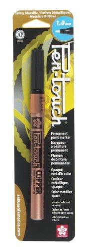 (Sakura 42383 1-Pack Blister Card Pentouch Paint Marker, Fine, Copper)