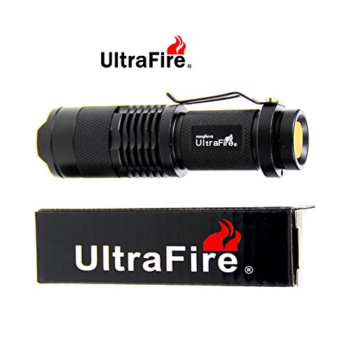 UltraFire-Mini-Cree-7w-300lm-Led-Flashlight-One-Mode-Torch-Adjustable-Focus-Zoom-Light-Lamp