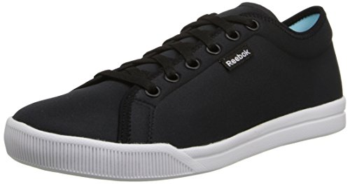 Reebok Women's Skyscape Runaround 2.0 Walking Shoe, Black/White, 5 M US