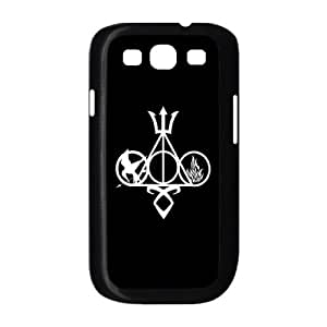 Custom Hard Plastic Back Case Cover for Samsung Galaxy S3 I9300 with Unique Design The Hunger Games