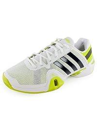 Adidas Men's Adipower Barricade 8 Tennis Shoe-Running White/Night Shade/Solar...