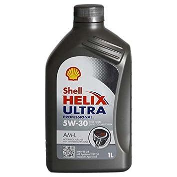 SHELL Aceite de Motor Helix Ultra Am-L 5W-30 BMW LL04, 1 litro