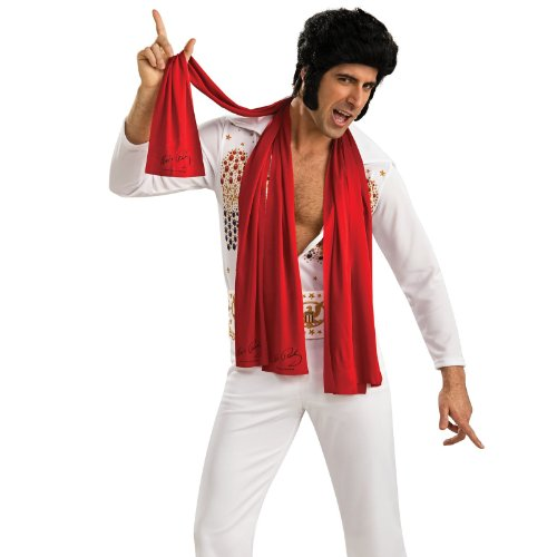 [Rubies Costumes 180139 Elvis Scarves - 3 - One-size] (Three Group Costumes)