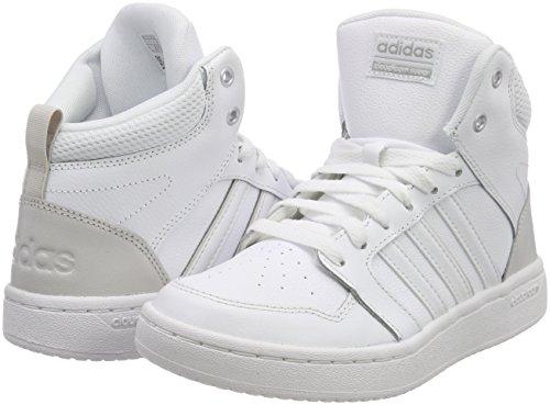 ftwwht Ftwwht Bianco ftwwht greone Cf Donna Superhoops Mid greone Scarpe Adidas ftwwht Da Basket W xUvwffR