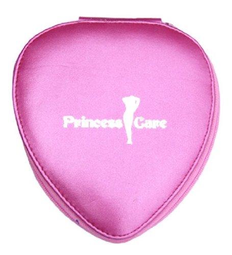 Princess Care VIP Pink 6pc Heart Manicure Pedicure Set Kit