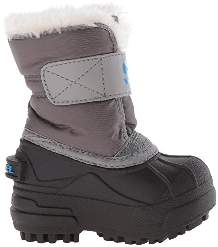 Sorel light Bottes Fog Grey Dark Junior Commander Snow 8FwSqT