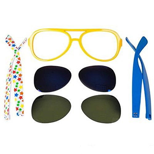 Create-Your-Own Sunglasses Kit, Assorted Colors. 5 - Sunglasses Own Create