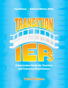 Transition Ieps: A Curriculum Guide for Teachers and Transition Practitioners