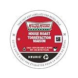 Krispy Kreme Doughnuts Smooth/House Roast Keurig 2.0 K-Cup Pack, 90 Count/Light - Medium Roast
